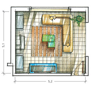 Самостоятельно сделать дизайн комнаты